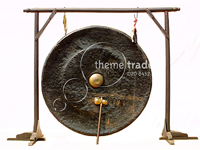 Giant Gong On Stand Props, Prop Hire