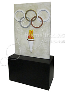 Olympic Display Stands Props, Prop Hire