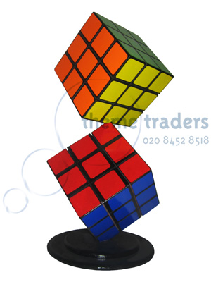 Rubik Cube Table Centres Props, Prop Hire