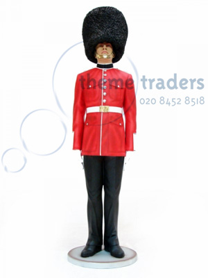 Queens Guard statue Props, Prop Hire