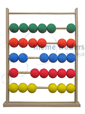 Giant Abacus Props, Prop Hire