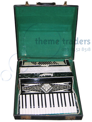Accordion in cases Props, Prop Hire