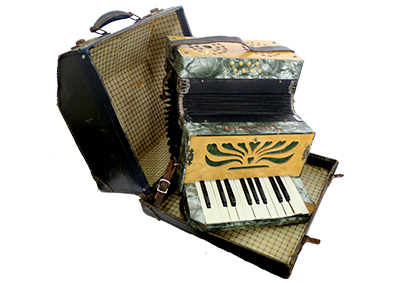 Accordion with Case Props, Prop Hire