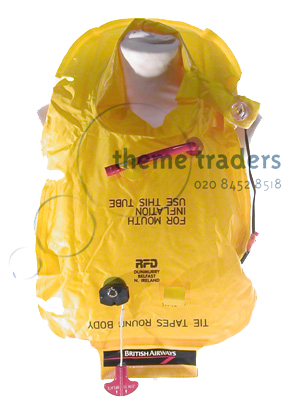 Airline Life Jackets Props, Prop Hire