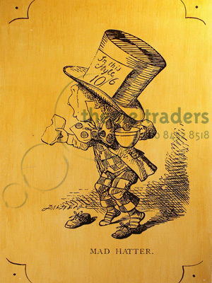 Alice Etchings Mad Hatters Props, Prop Hire