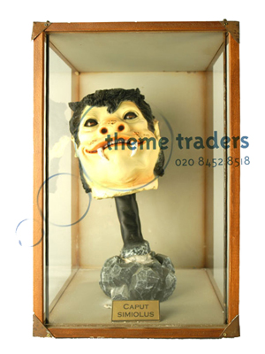 Ogre Head in Display Case Props, Prop Hire