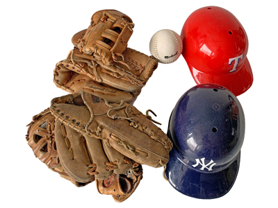 Baseball Kit Props, Prop Hire