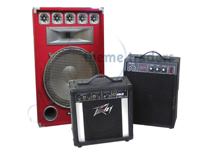Amplifiers Speakers Props, Prop Hire