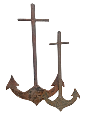 Rust Effect Anchors Props, Prop Hire
