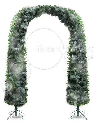 Christmas Tree Arches Props, Prop Hire