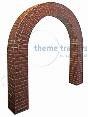 Brickwork Archways Props, Prop Hire