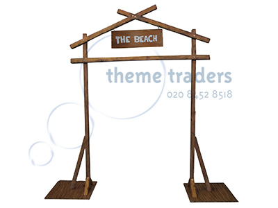 Beach Arch Props, Prop Hire