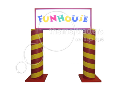 Funhouse Arch Props, Prop Hire