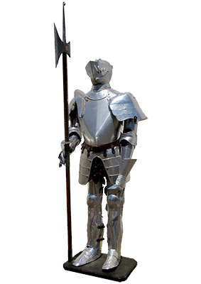 Complete Suit of Armour Props, Prop Hire