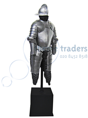Suits of Armour Dressed Torso on Plinth Props, Prop Hire