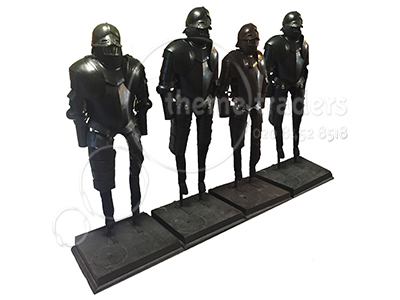 Armour Black Props, Prop Hire