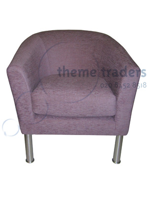 Purple Armchair Props, Prop Hire