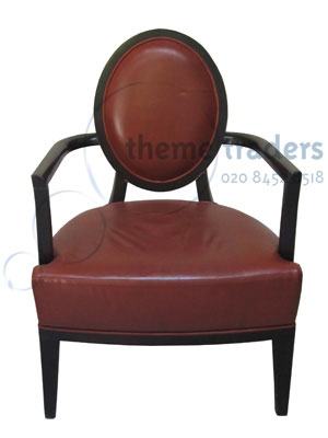 Burgandy Chair Props, Prop Hire