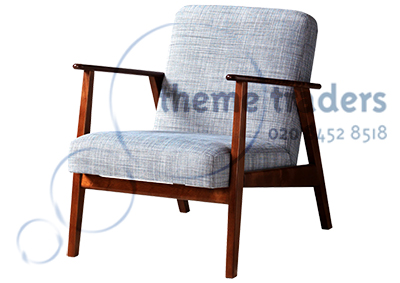 Gray Armchair Props, Prop Hire