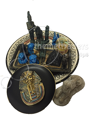 Egyptian artefacts Props, Prop Hire