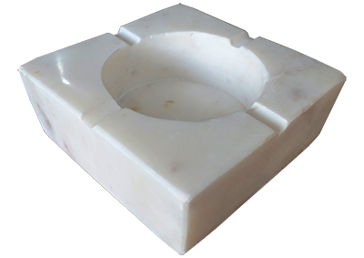 White Marble Ashtray Props, Prop Hire