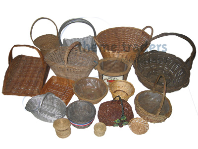 Wicker Baskets Props, Prop Hire