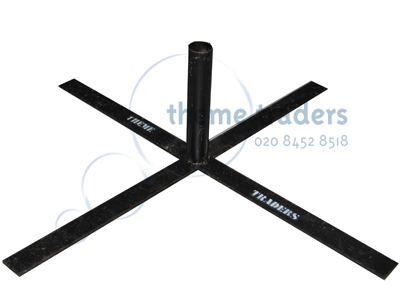 Base Cross for Large aluminium rigging Props, Prop Hire