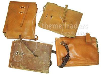 Leather Map Cases Props, Prop Hire