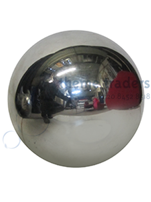 Polished Metal Sphere Props, Prop Hire