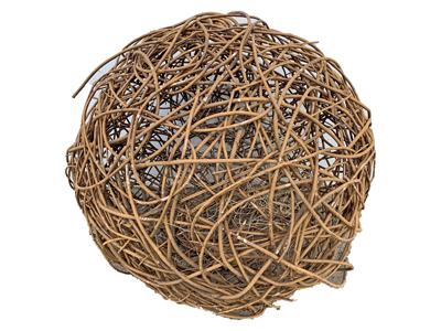 Wicker Ball medium Props, Prop Hire