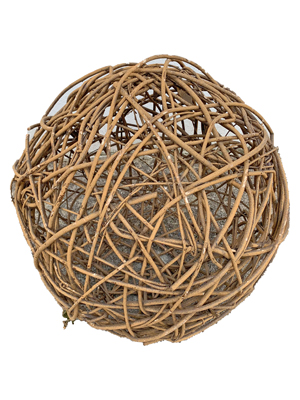 Wicker Ball small Props, Prop Hire