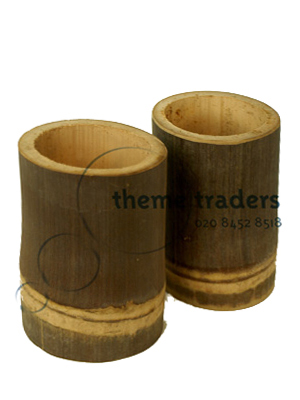Bamboo Cups Props, Prop Hire