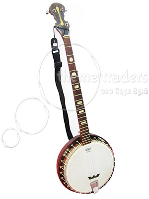 Banjo with Case Props, Prop Hire
