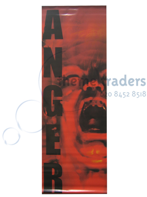 Seven Deadly Sins Anger Banners Props, Prop Hire