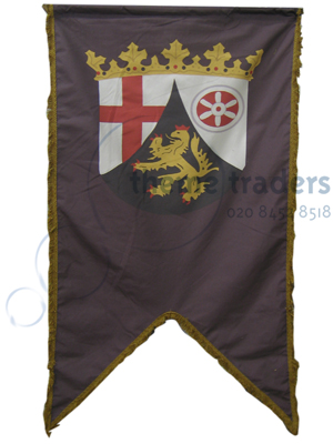 historic Medieval Banners Props, Prop Hire