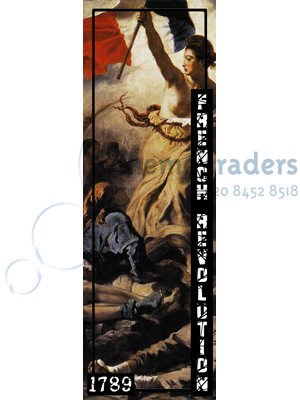 French Revolution Banner Props, Prop Hire