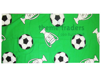 Football Themed Flag Props, Prop Hire