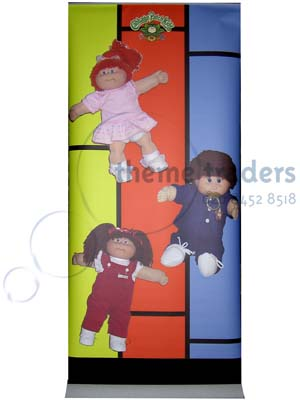 Cabbage Patch Kids Banners Props, Prop Hire