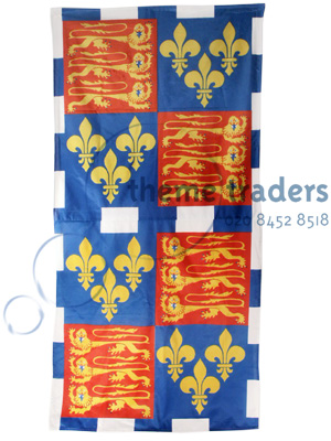 Medieval Pennant banners Props, Prop Hire
