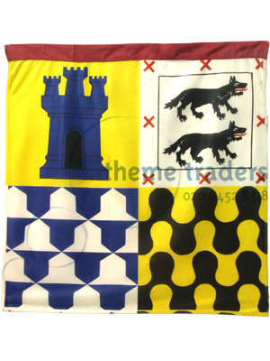Medieval Pennants Props, Prop Hire