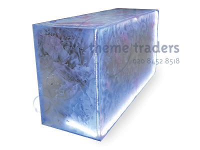 Frosted Acrylic Bars Props, Prop Hire