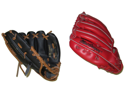 Baseball Gloves Props, Prop Hire
