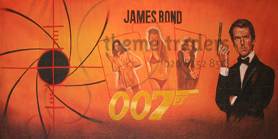 Bond Backdrops Props, Prop Hire