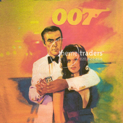 Sean Connery and Bond GIrl panels Props, Prop Hire