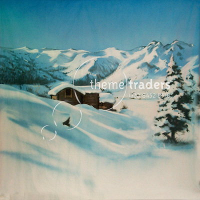Snow Scenery Backdrops Props, Prop Hire