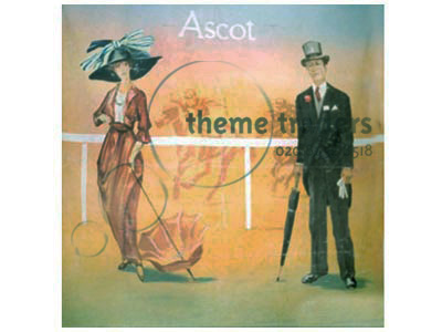 Ascot Backdrops Props, Prop Hire