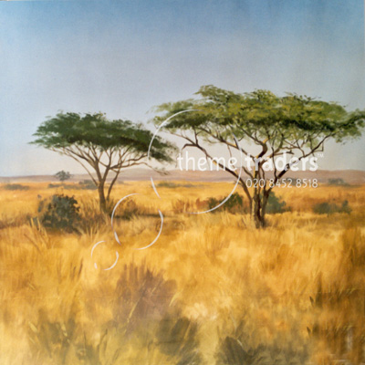 savannah africa backdrops Props, Prop Hire