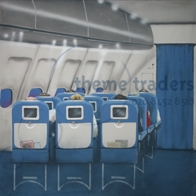 Aeroplane seats backdrops Props, Prop Hire