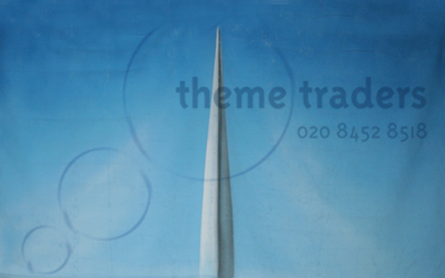 plane Rear Fin Backdrops Props, Prop Hire