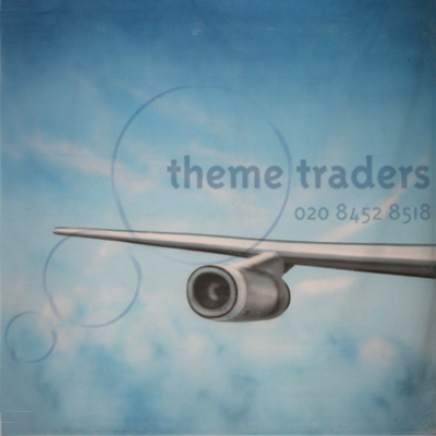 Airline Wing Front Backdrops Props, Prop Hire